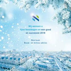 Noorman Bouw- en milieu-advies wenst u fijne feestdagen!